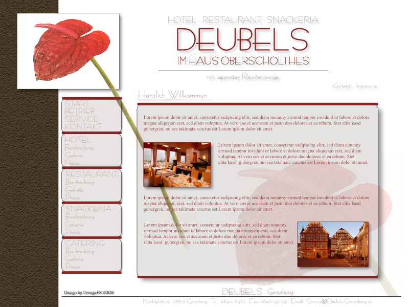 DEUBELS Hotel • Restaurant • Snackeria